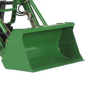 1350-mm (53-in.) materials bucket