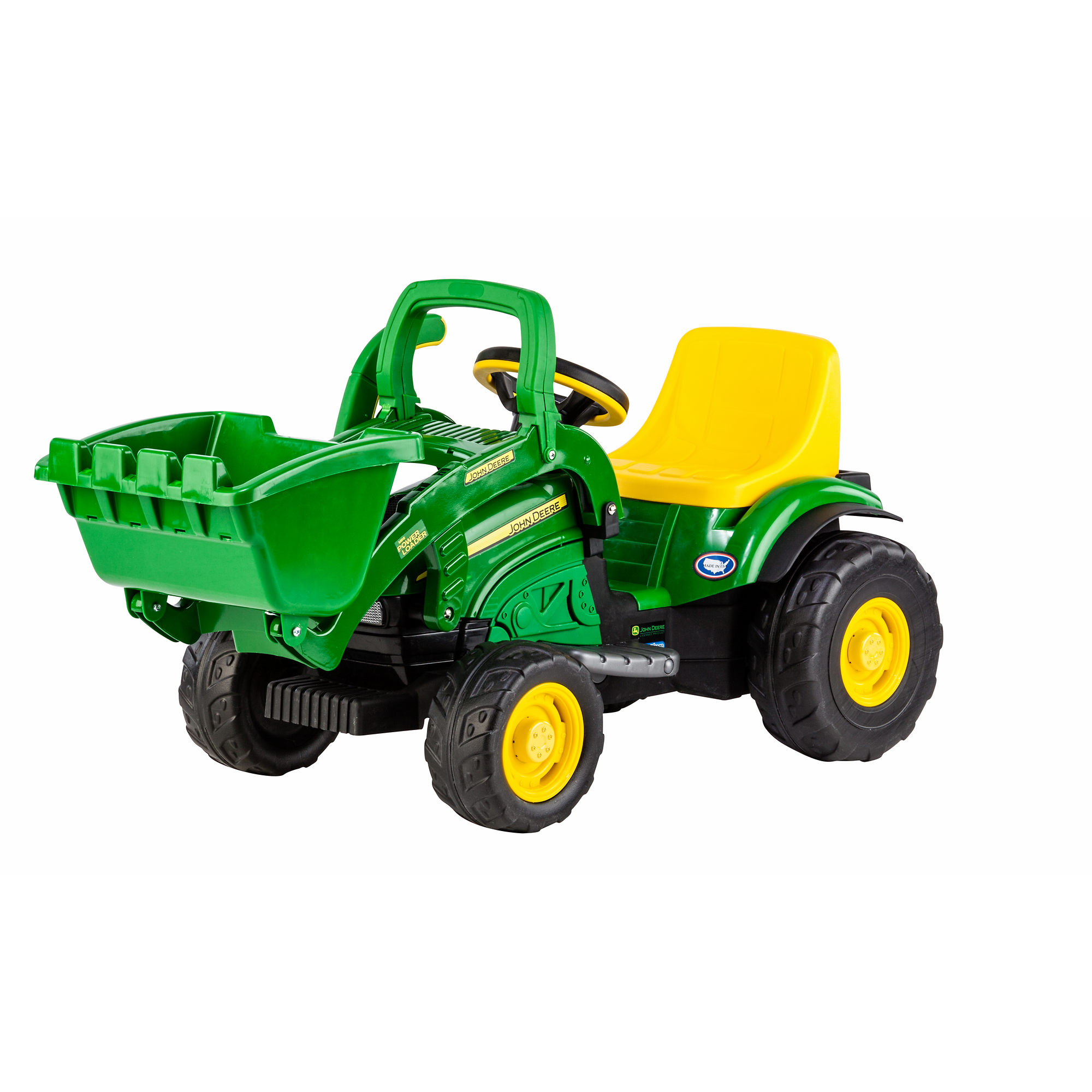 Peg Perego John Deere Mini Power Loader with Working Front ...
