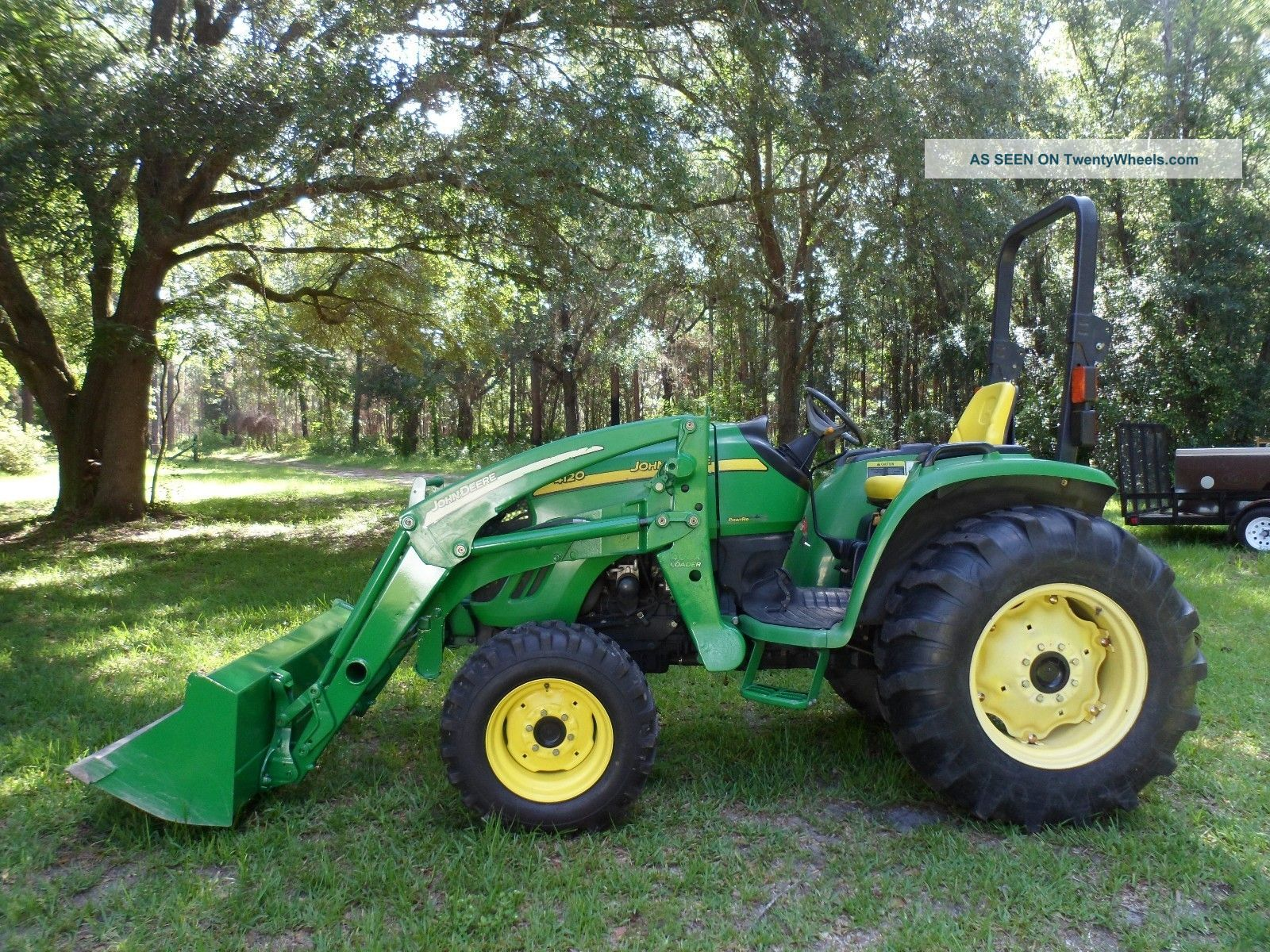 2006 John Deere 4120 Compact 4x4 Tractor With Front Loader ...