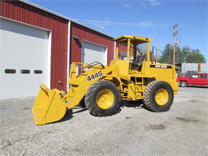 1994 DEERE 444G WHEEL LOADER OROPS - 9250 HOURS - QUICK ...