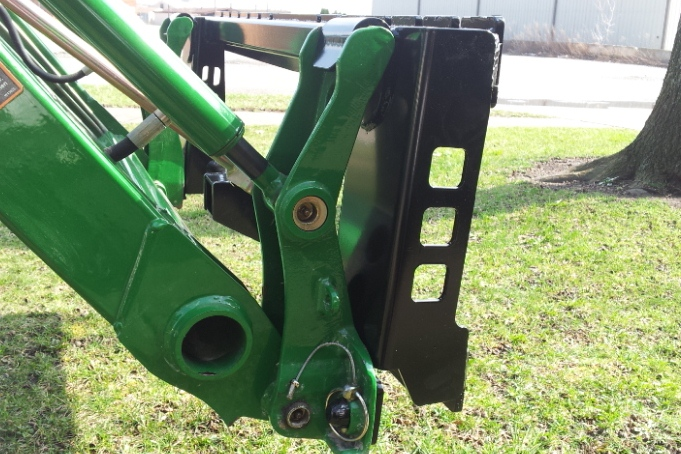 620 loader pallet forks not euro style quick attach