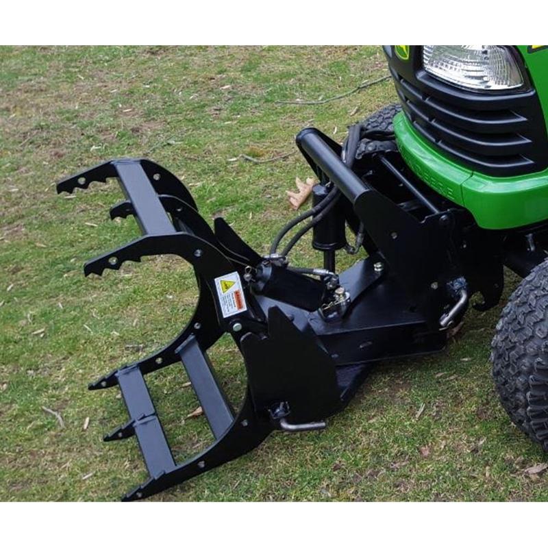 Garden Tractor Grapple Bucket