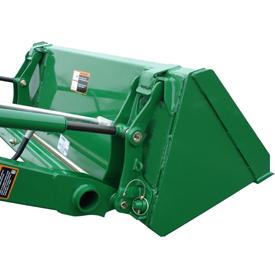 49-in. (1250-mm) materials bucket