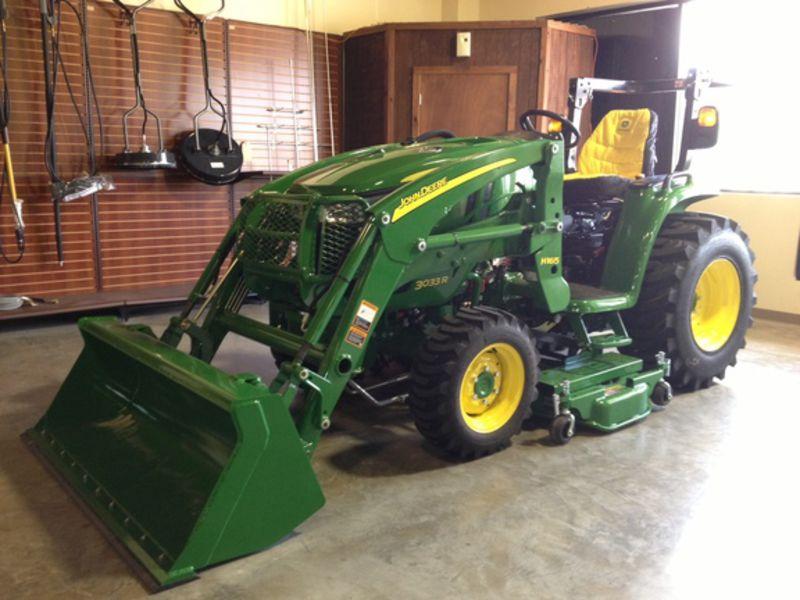 2016 John Deere 3033R Tractor #1LV3033RPGG100357 Ag-Pro of ...
