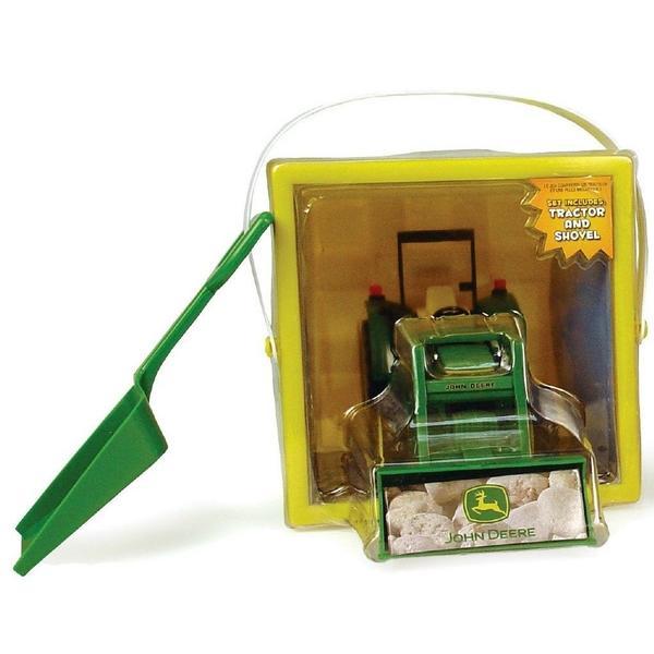 John Deere Toys - Deluxe Sandbox Bucket Tractor Set at ToyStop