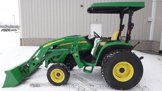 2009 John Deere 4120 Tractors - Compact (1-40hp.) - John ...