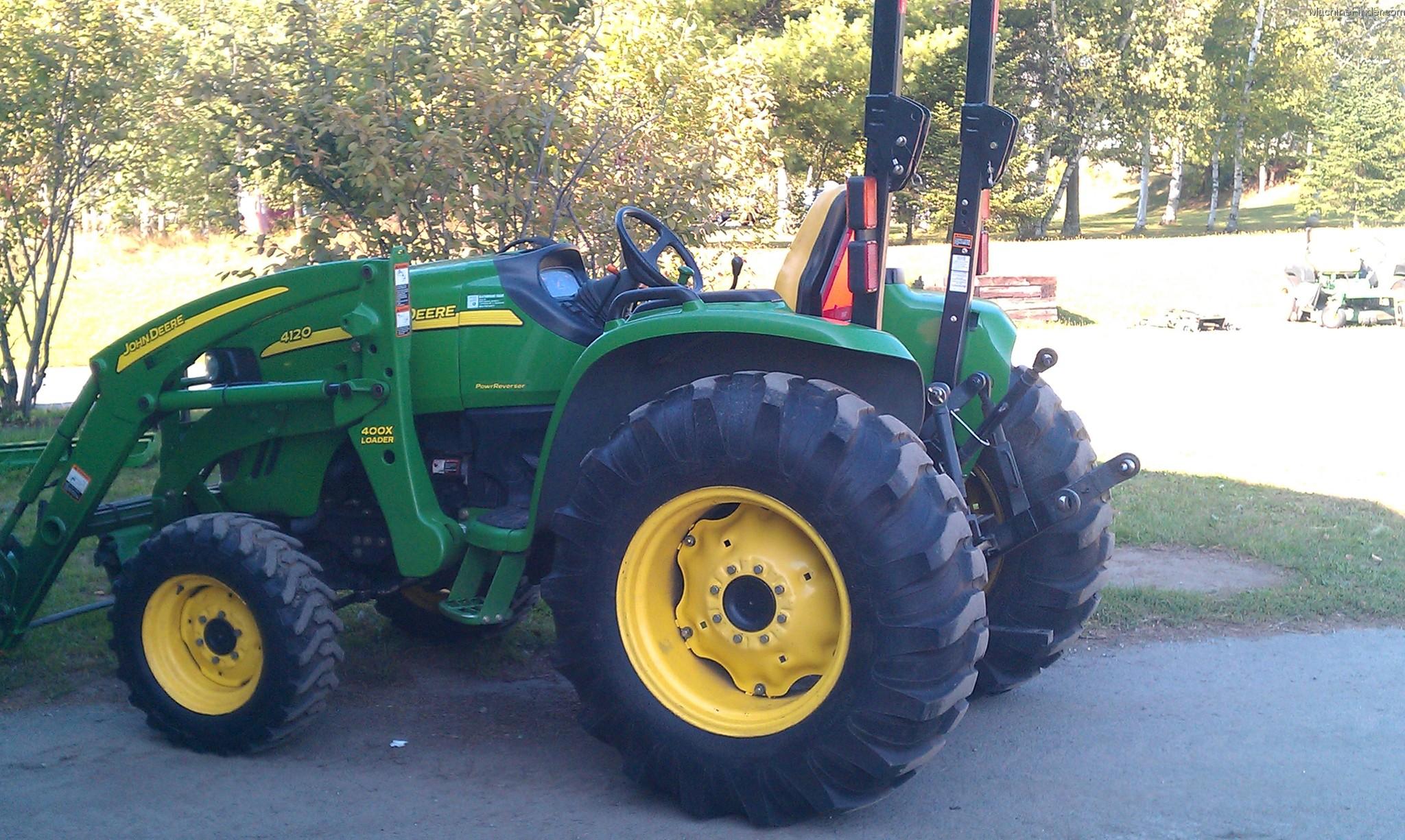 2007 John Deere 4120 Tractors - Compact (1-40hp.) - John ...