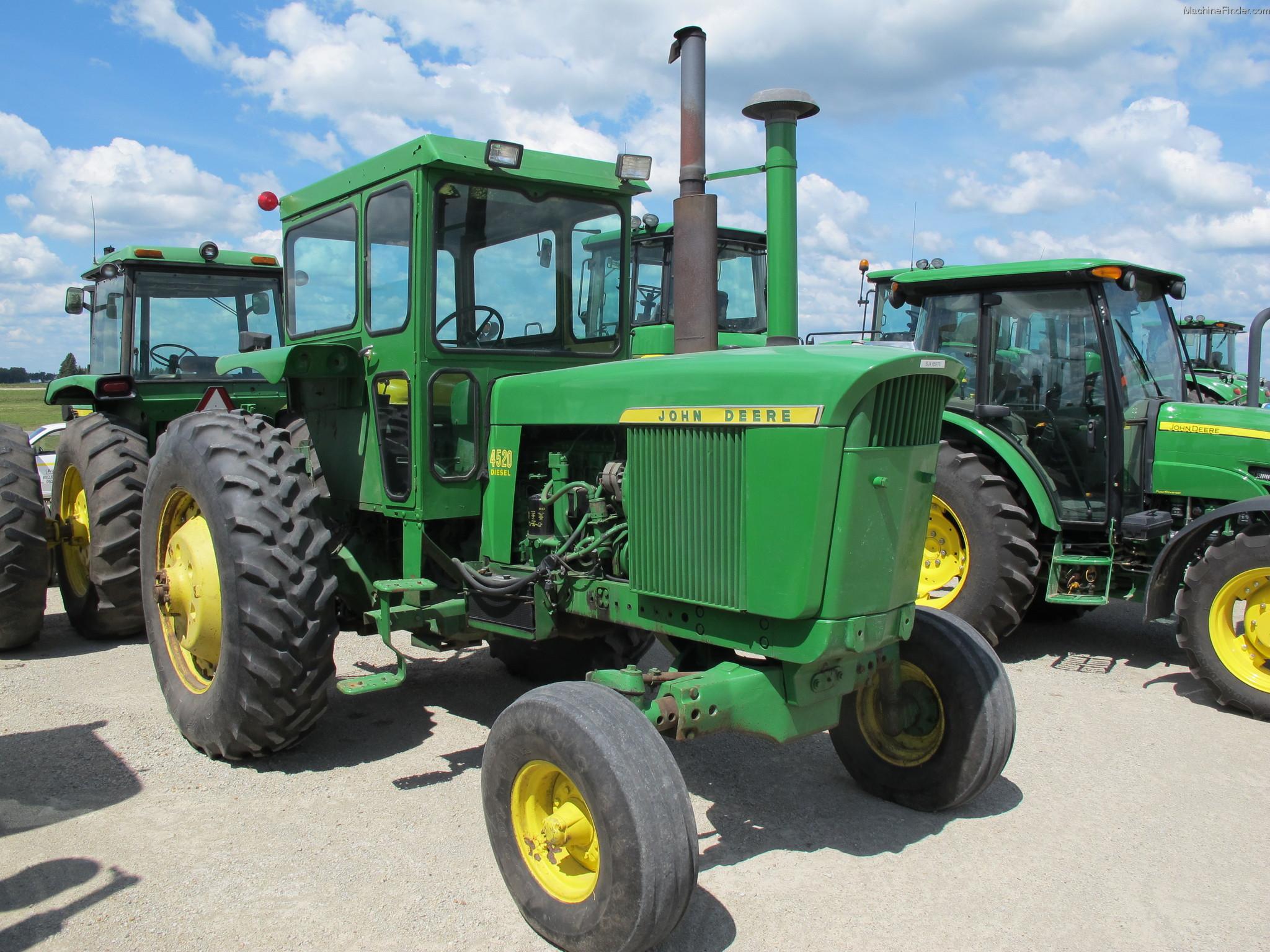 1969 John Deere 4520 Tractors - Row Crop (+100hp) - John ...