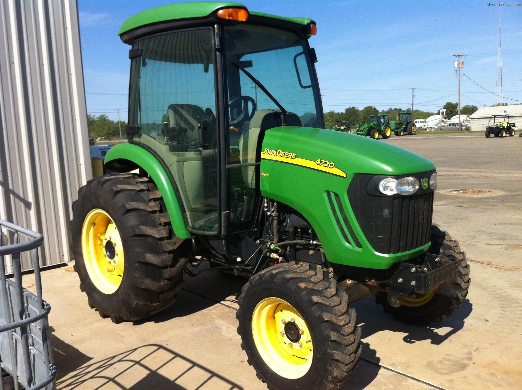 2007 John Deere 4720 Tractors - Utility (40-100hp) - John ...