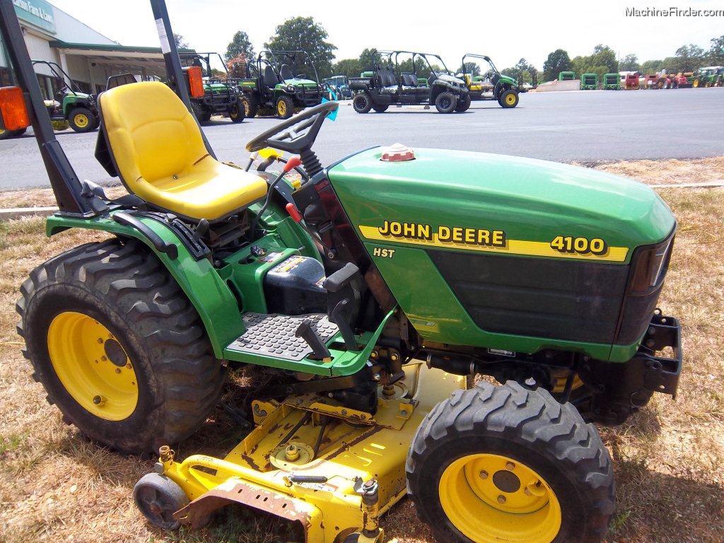 2000 John Deere 4100 Tractors - Compact (1-40hp.) - John ...