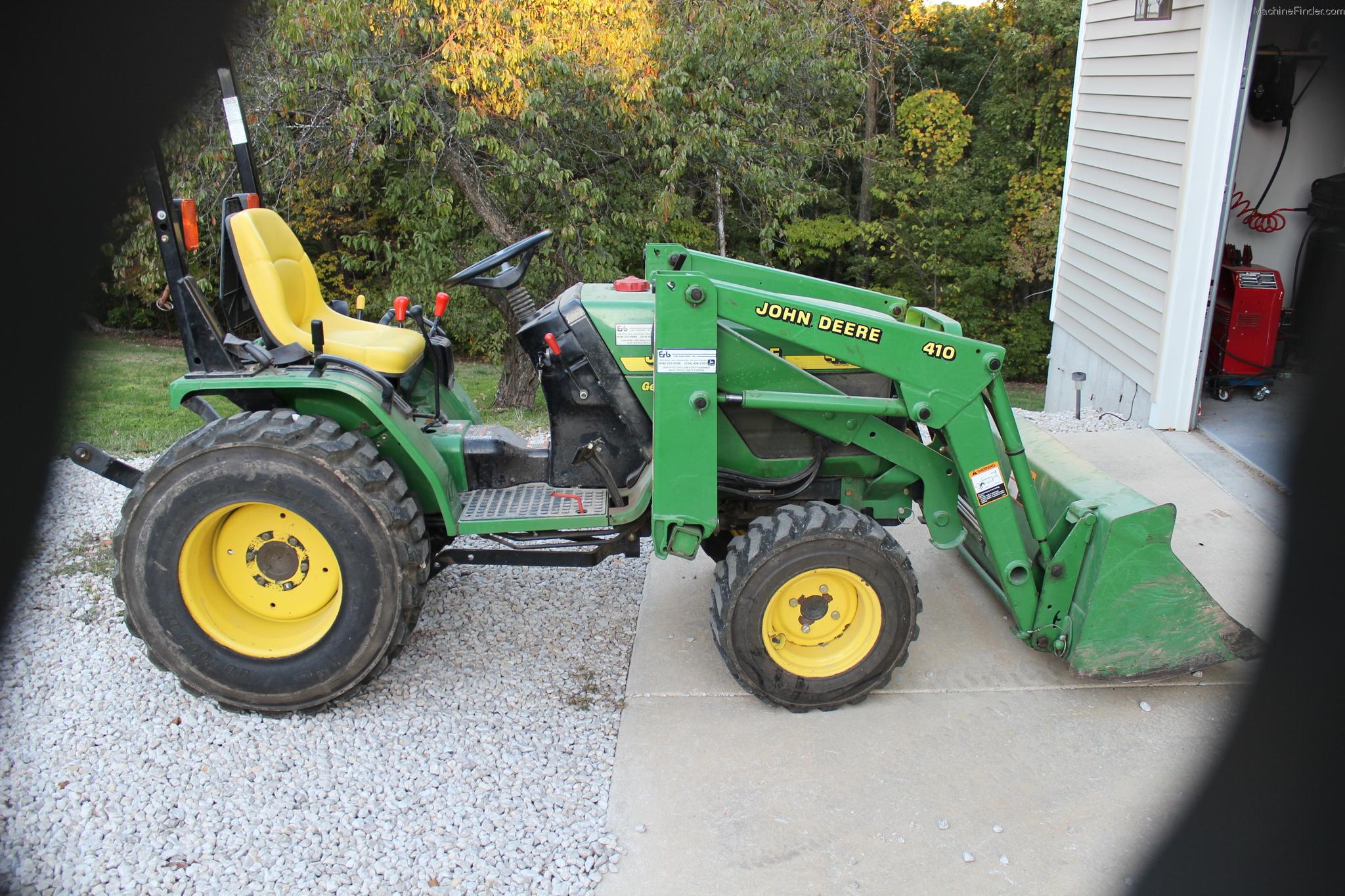 2001 John Deere 4100 Tractors - Compact (1-40hp.) - John ...
