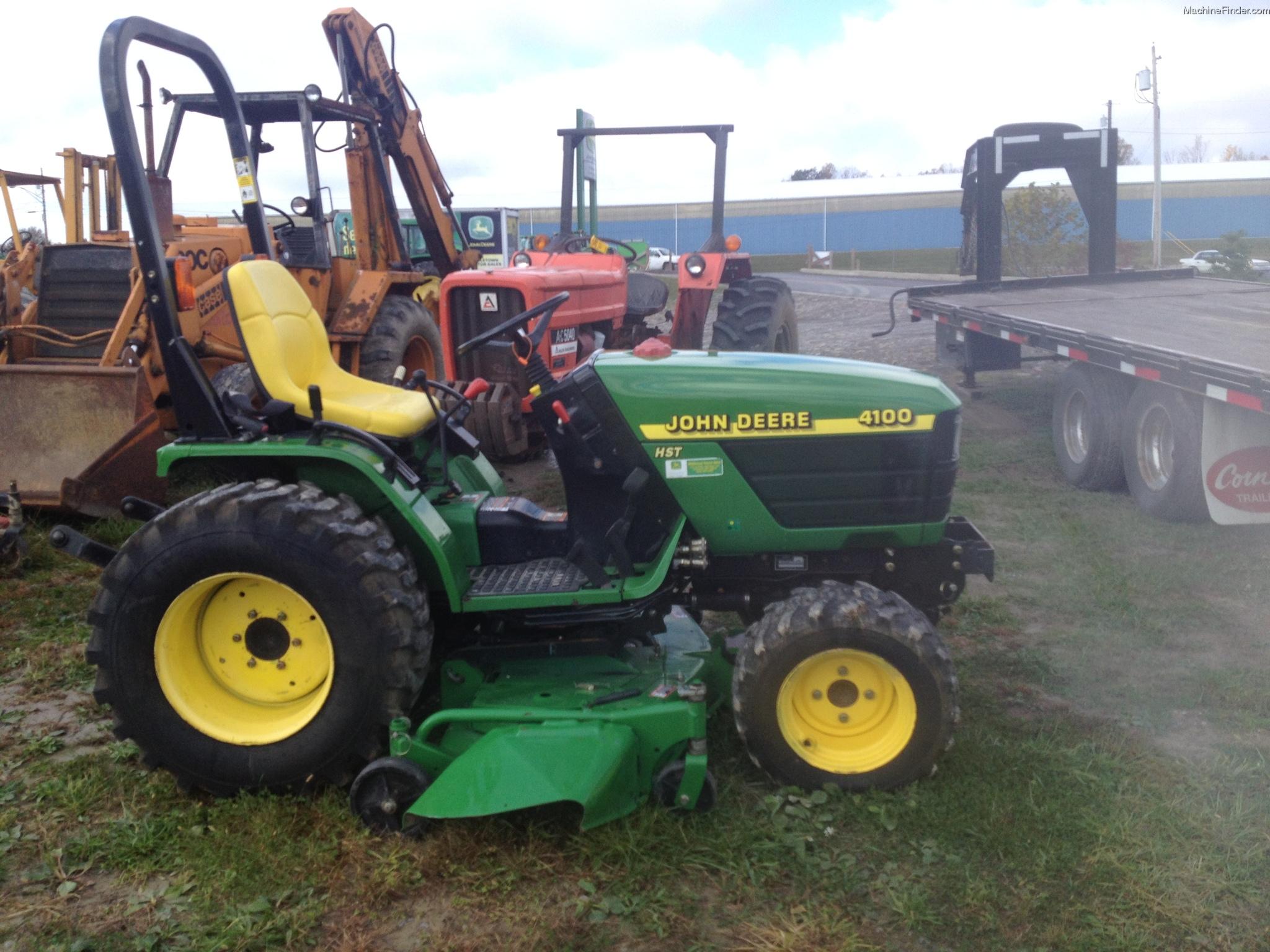John Deere 4100 Tractors - Compact (1-40hp.) - John Deere ...