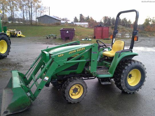 2000 John Deere 4200 Tractors - Compact (1-40hp.) - John ...