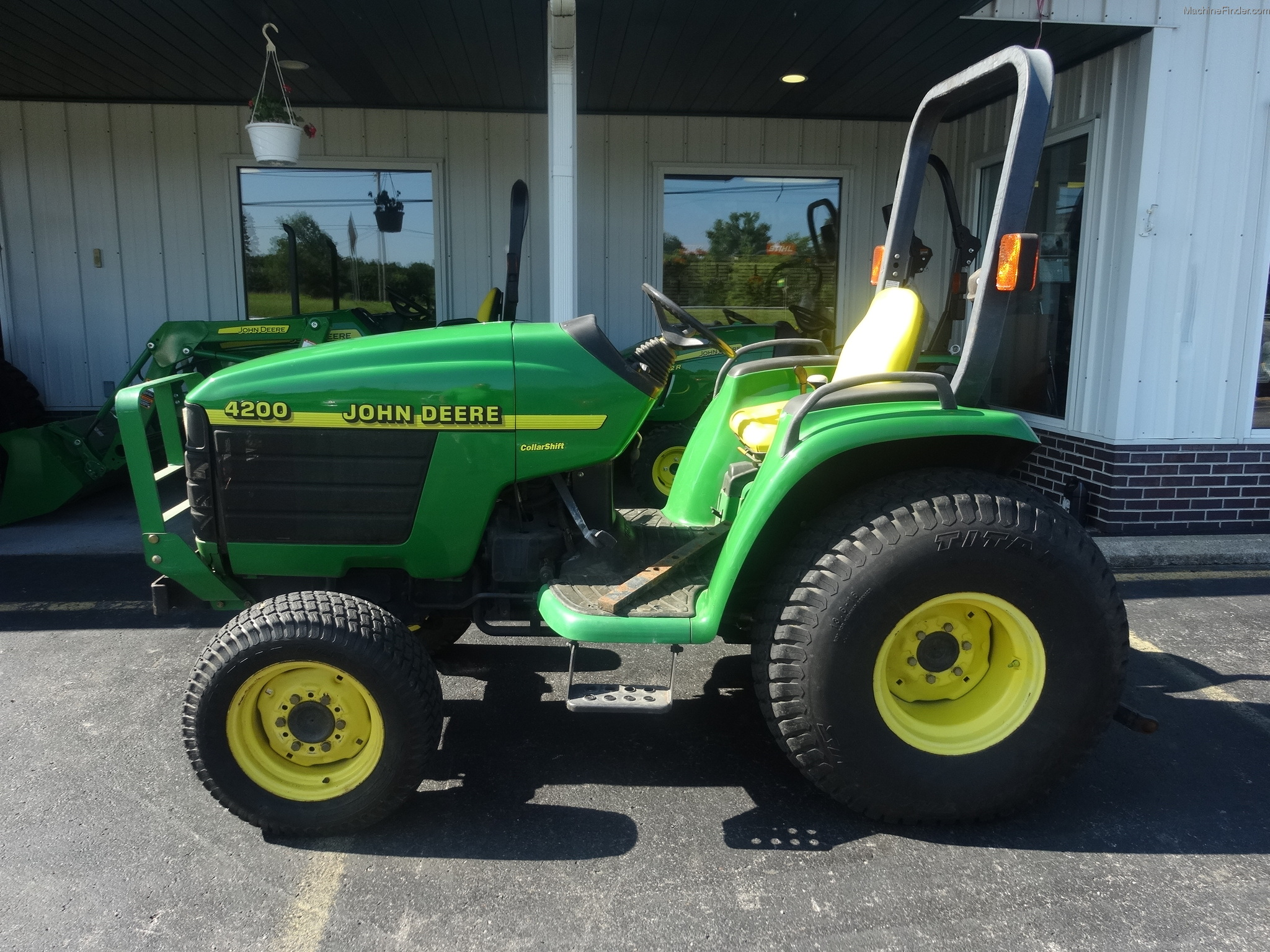 1999 John Deere 4200 Tractors - Compact (1-40hp.) - John ...
