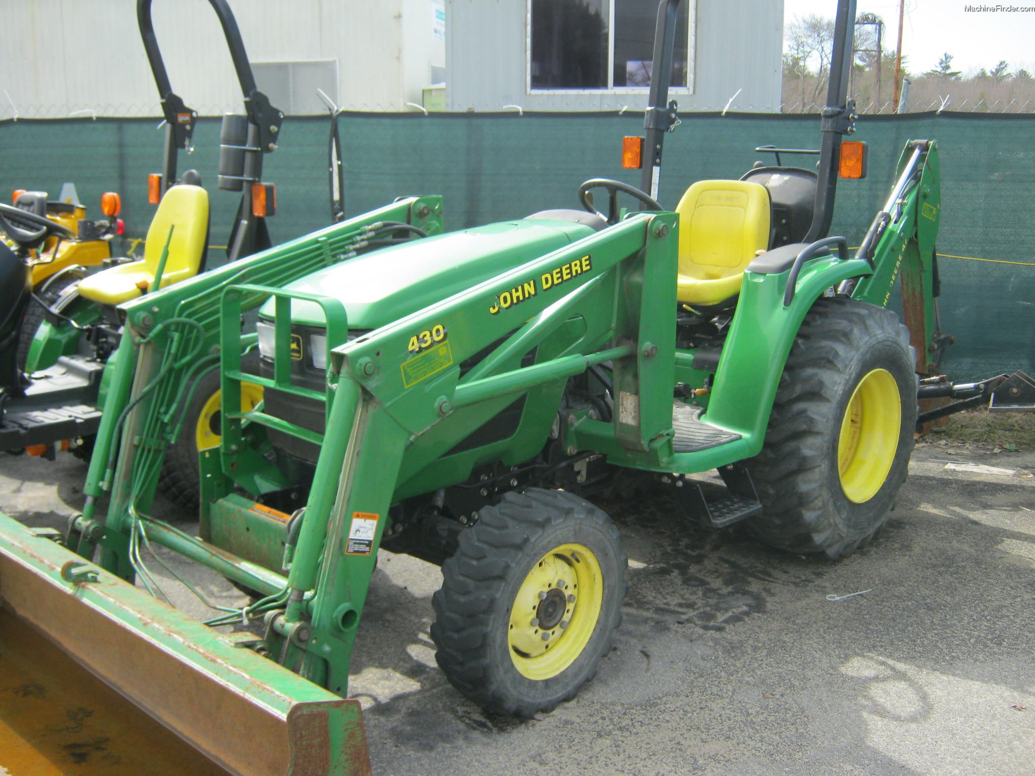 2001 John Deere 4300 Tractors - Compact (1-40hp.) - John ...