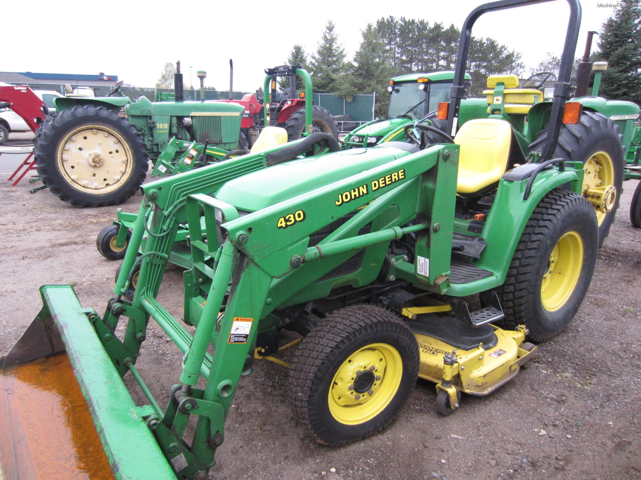 John Deere 4300 Tractors - Compact (1-40hp.) - John Deere ...