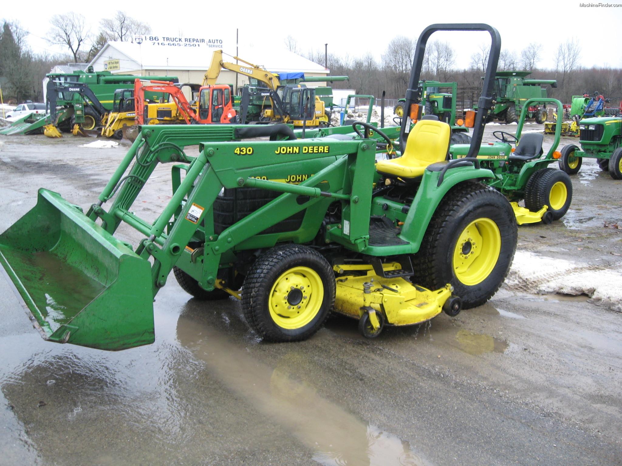 2000 John Deere 4400 Tractors - Compact (1-40hp.) - John ...