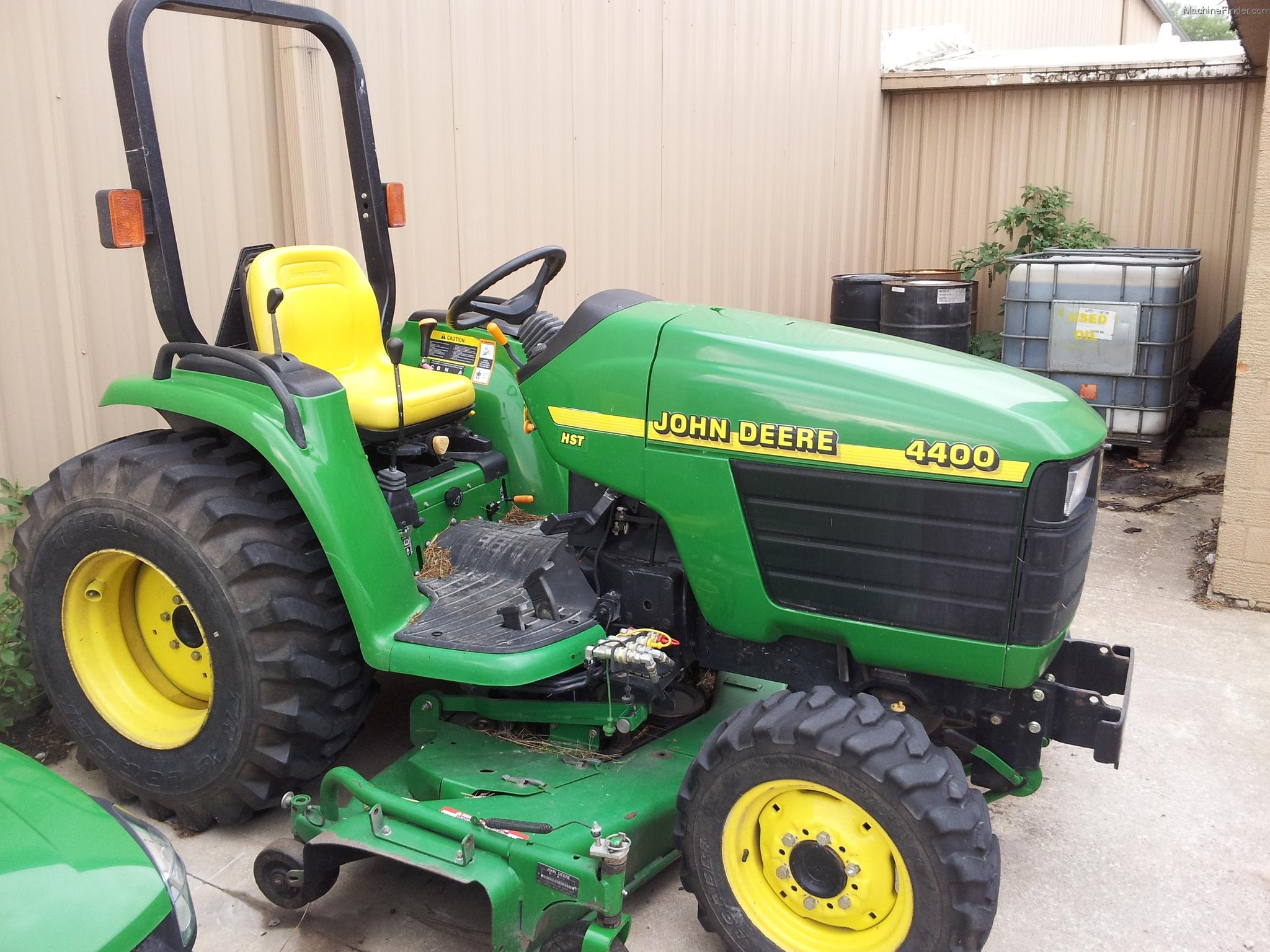 2001 John Deere 4400 Tractors - Compact (1-40hp.) - John ...