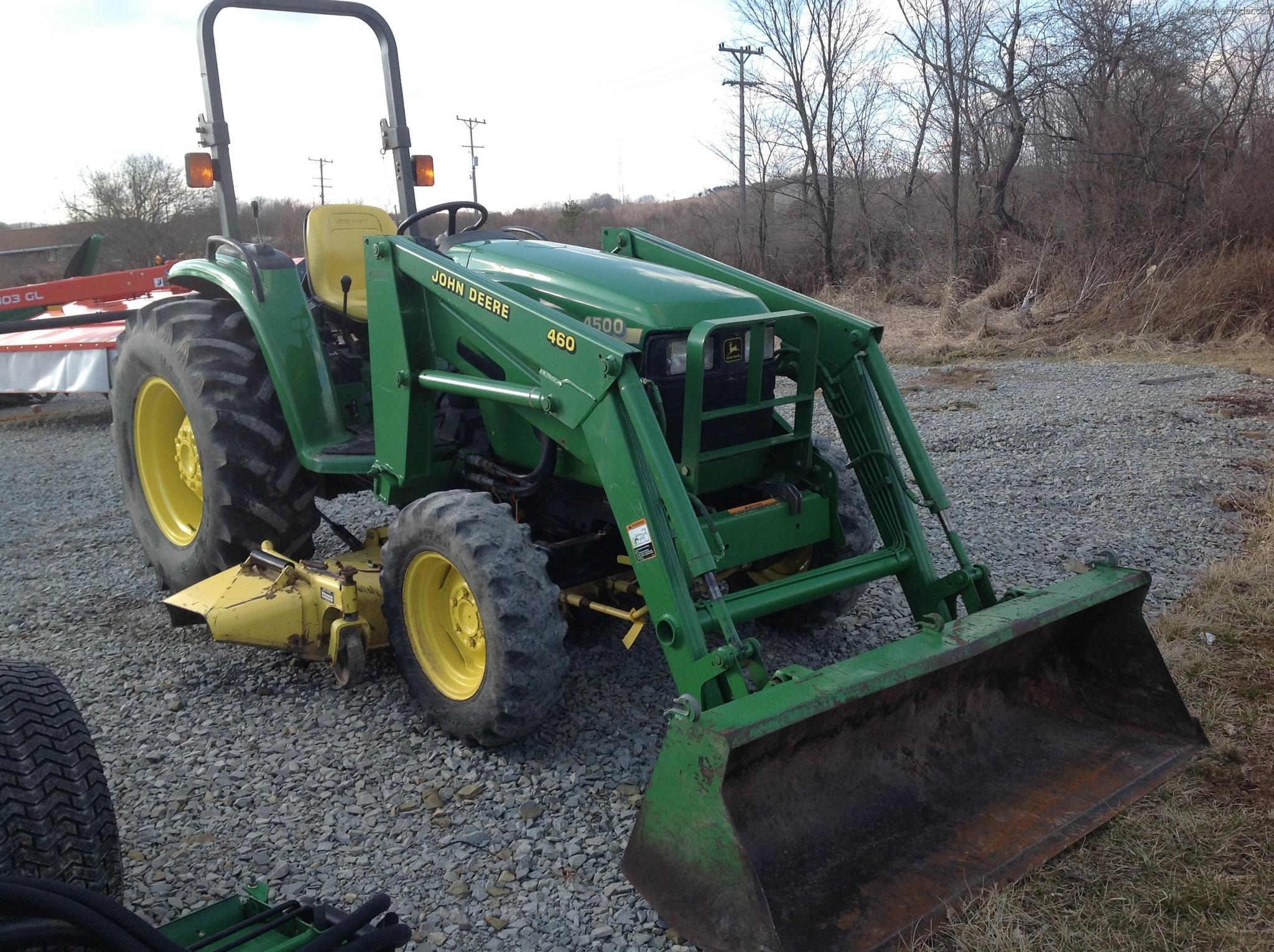 1998 John Deere 4500 Tractors - Compact (1-40hp.) - John ...