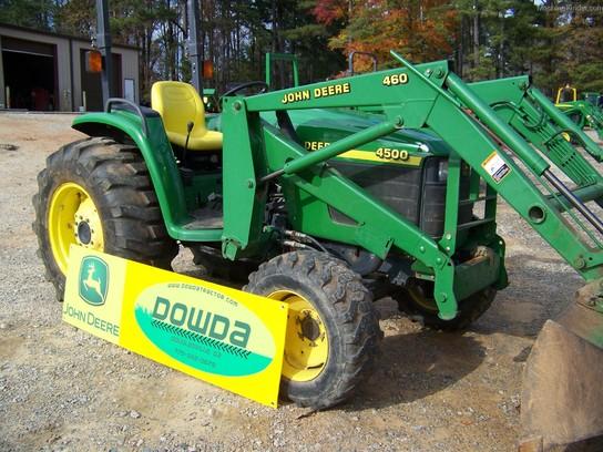 1999 John Deere 4500 Tractors - Compact (1-40hp.) - John ...