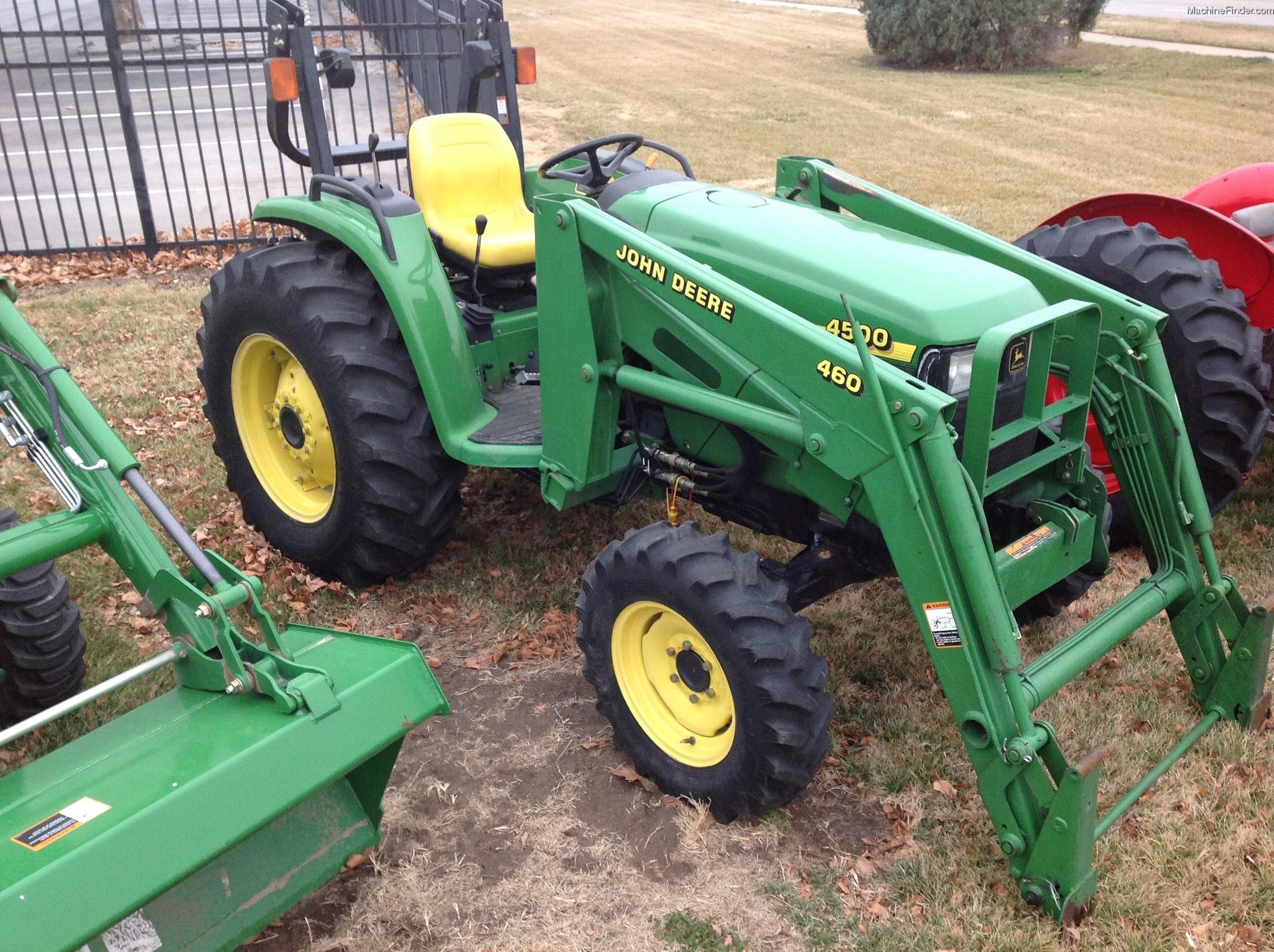 2000 John Deere 4500 Tractors - Compact (1-40hp.) - John ...