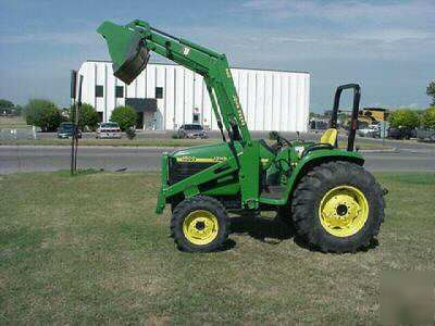 2000 john deere 4500 tractor 4WD(loader included )39HP