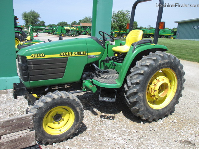 2000 John Deere 4600 Tractors - Compact (1-40hp.) - John ...