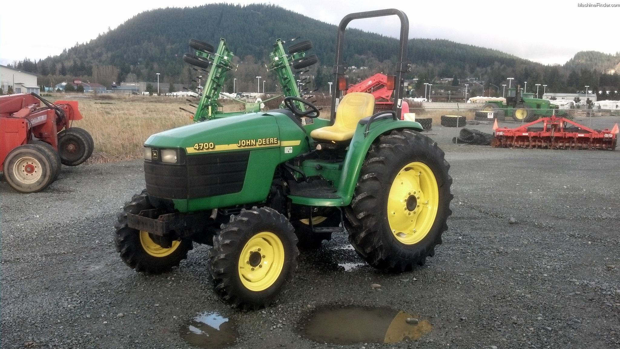 2002 John Deere 4700 Tractors - Compact (1-40hp.) - John ...