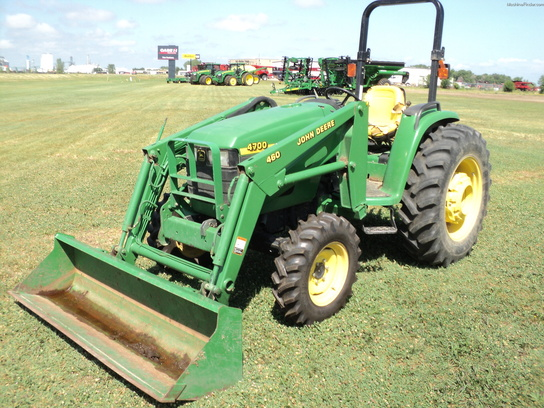 2000 John Deere 4700 Tractors - Utility (40-100hp) - John ...