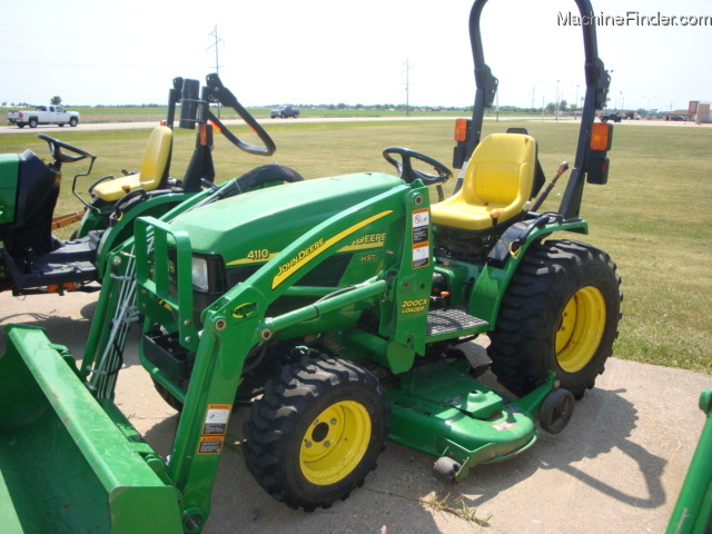 2004 John Deere 4110 Tractors - Compact (1-40hp.) - John ...