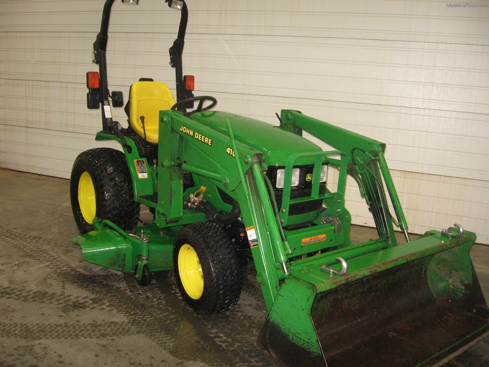 2002 John Deere 4110 Tractors - Compact (1-40hp.) - John ...