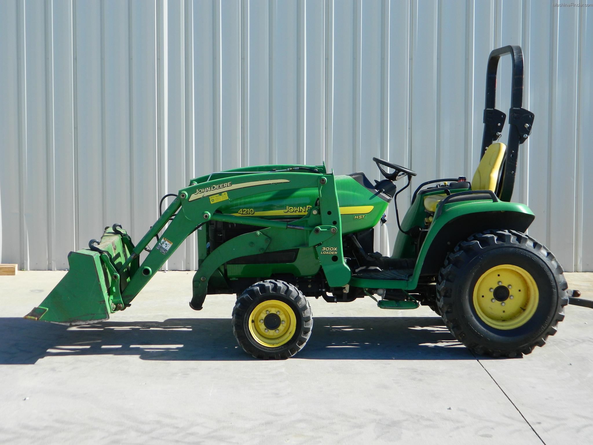 2004 John Deere 4210 Tractors - Compact (1-40hp.) - John ...