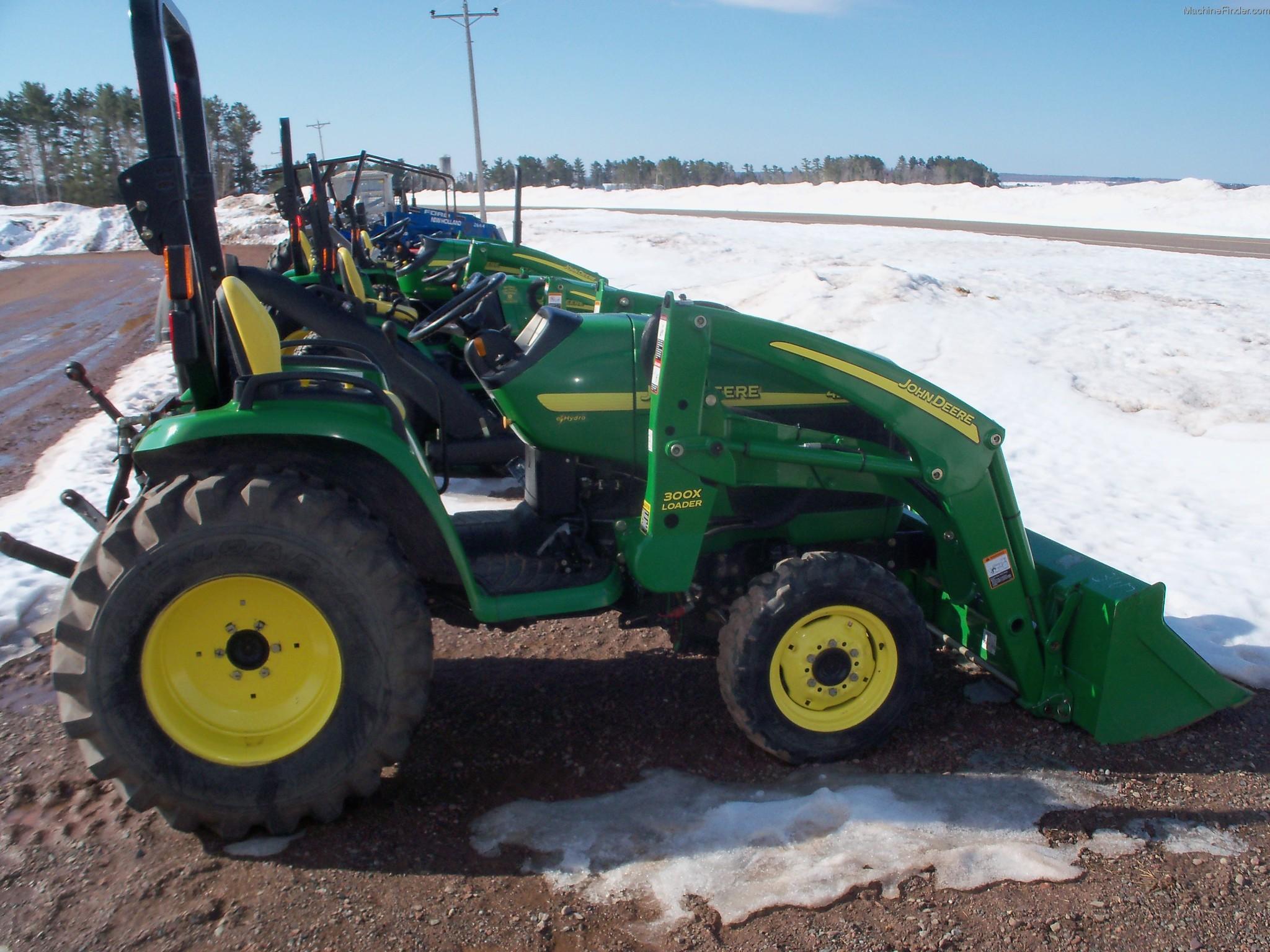 2002 John Deere 4210 Tractors - Compact (1-40hp.) - John ...