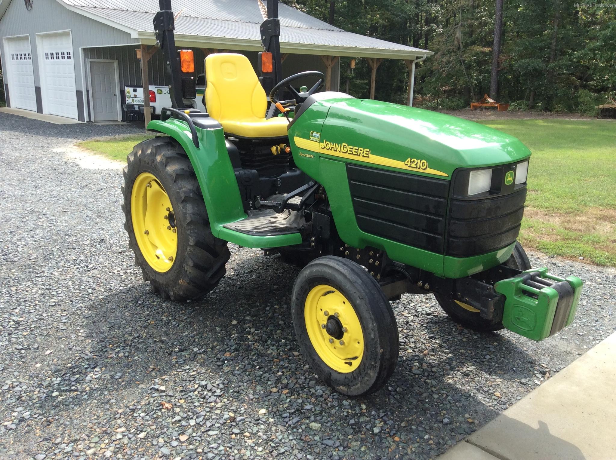 2003 John Deere 4210 Tractors - Compact (1-40hp.) - John ...