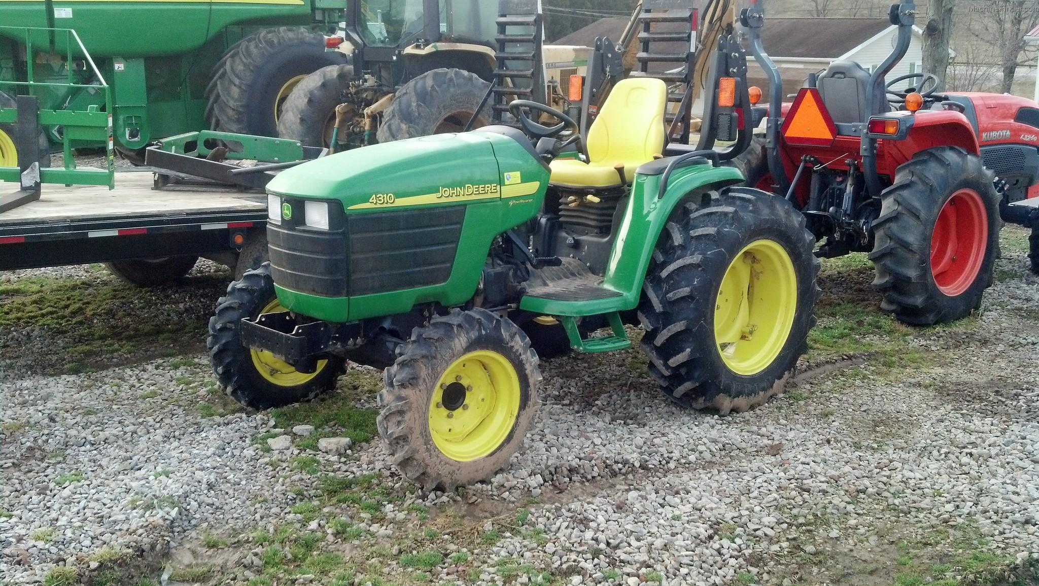 2004 John Deere 4310 Tractors - Compact (1-40hp.) - John ...