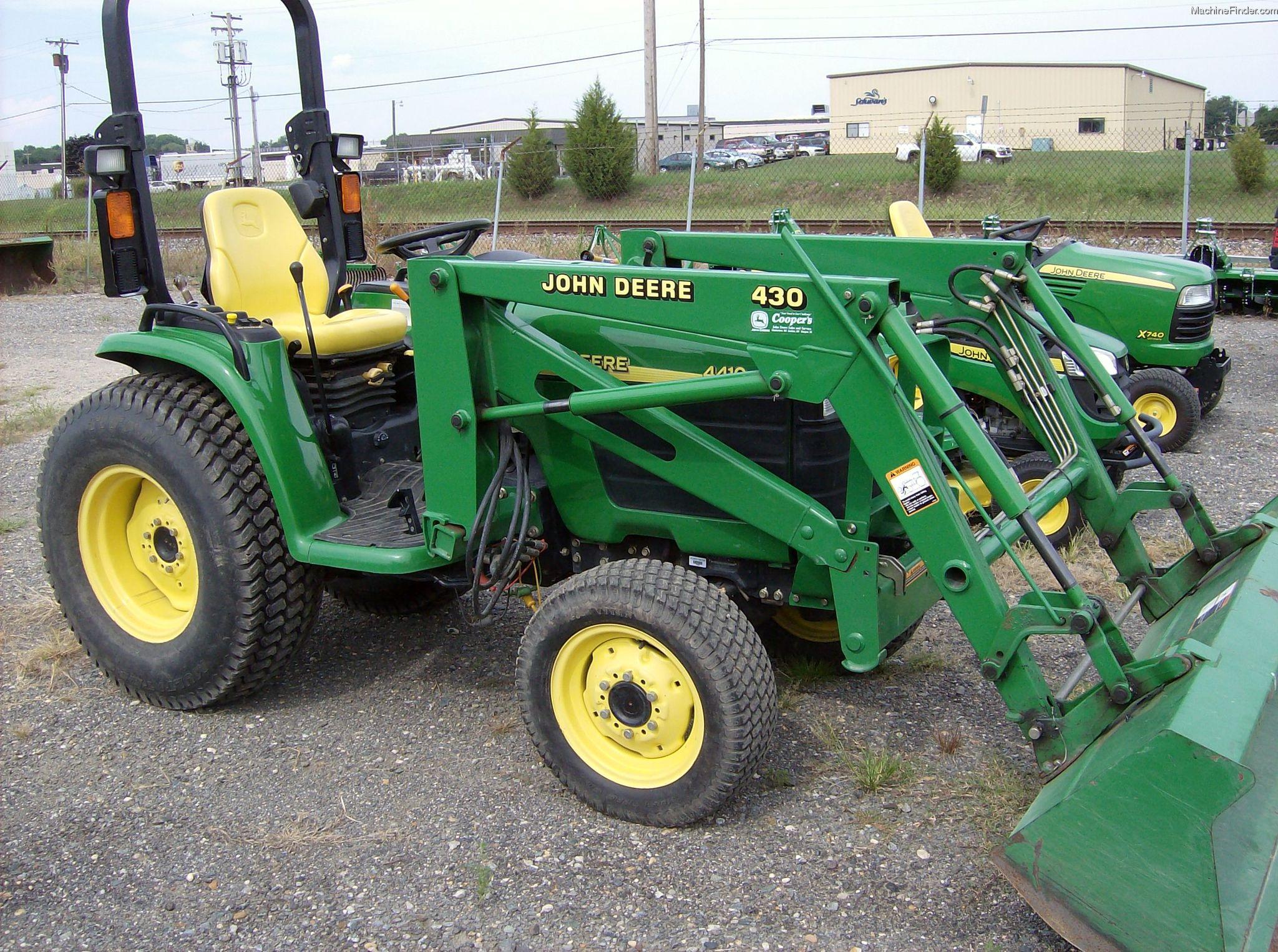 2004 John Deere 4410 Tractors - Compact (1-40hp.) - John ...