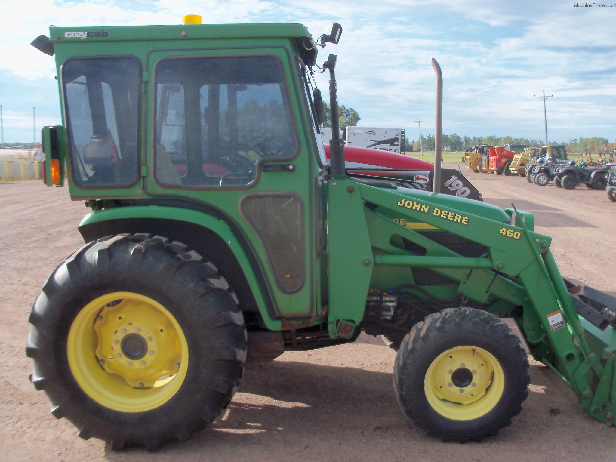 2002 John Deere 4710 Tractors - Compact (1-40hp.) - John ...