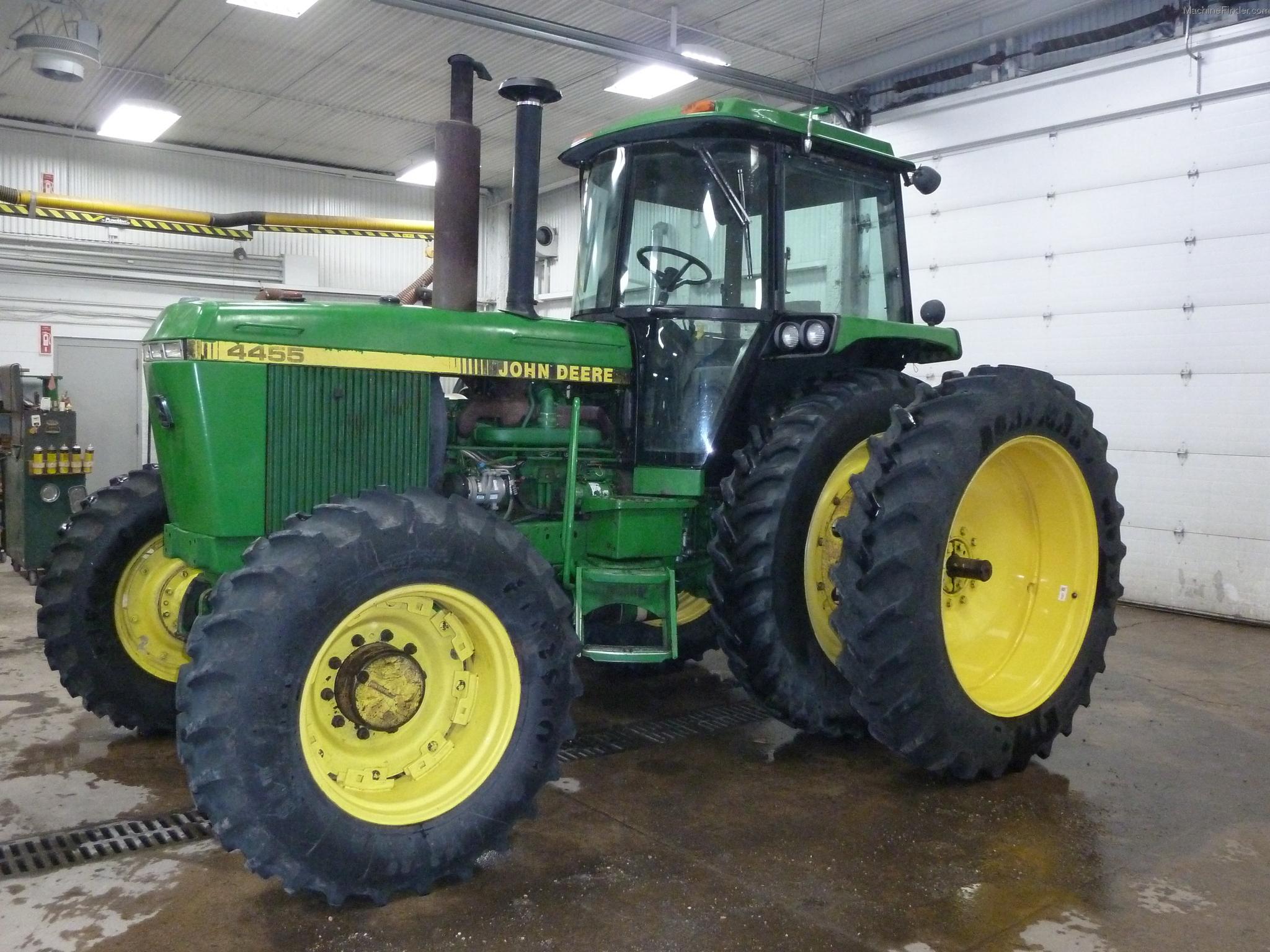 1992 John Deere 4455 Tractors - Row Crop (+100hp) - John ...
