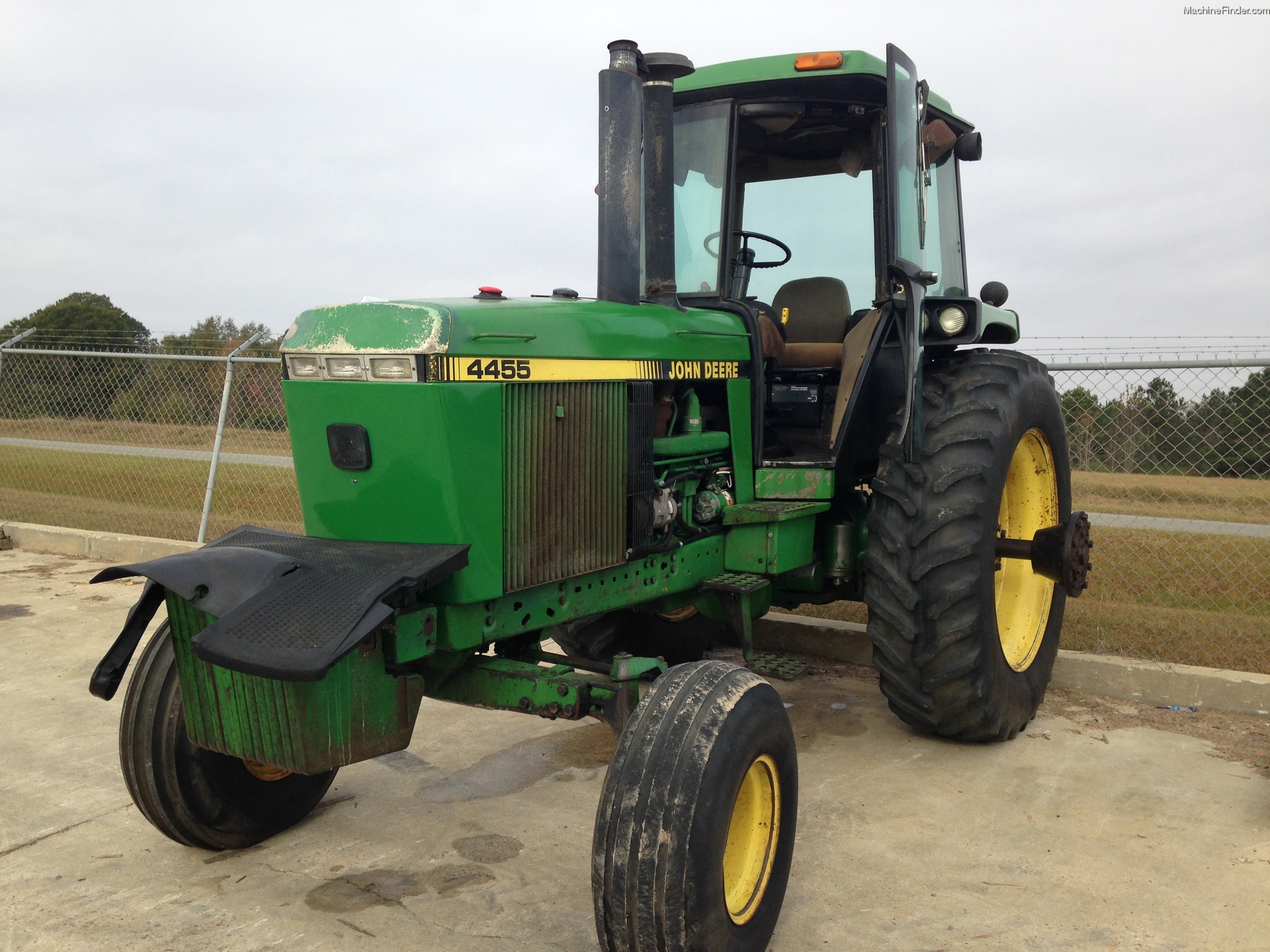 1990 John Deere 4455 Tractors - Row Crop (+100hp) - John ...