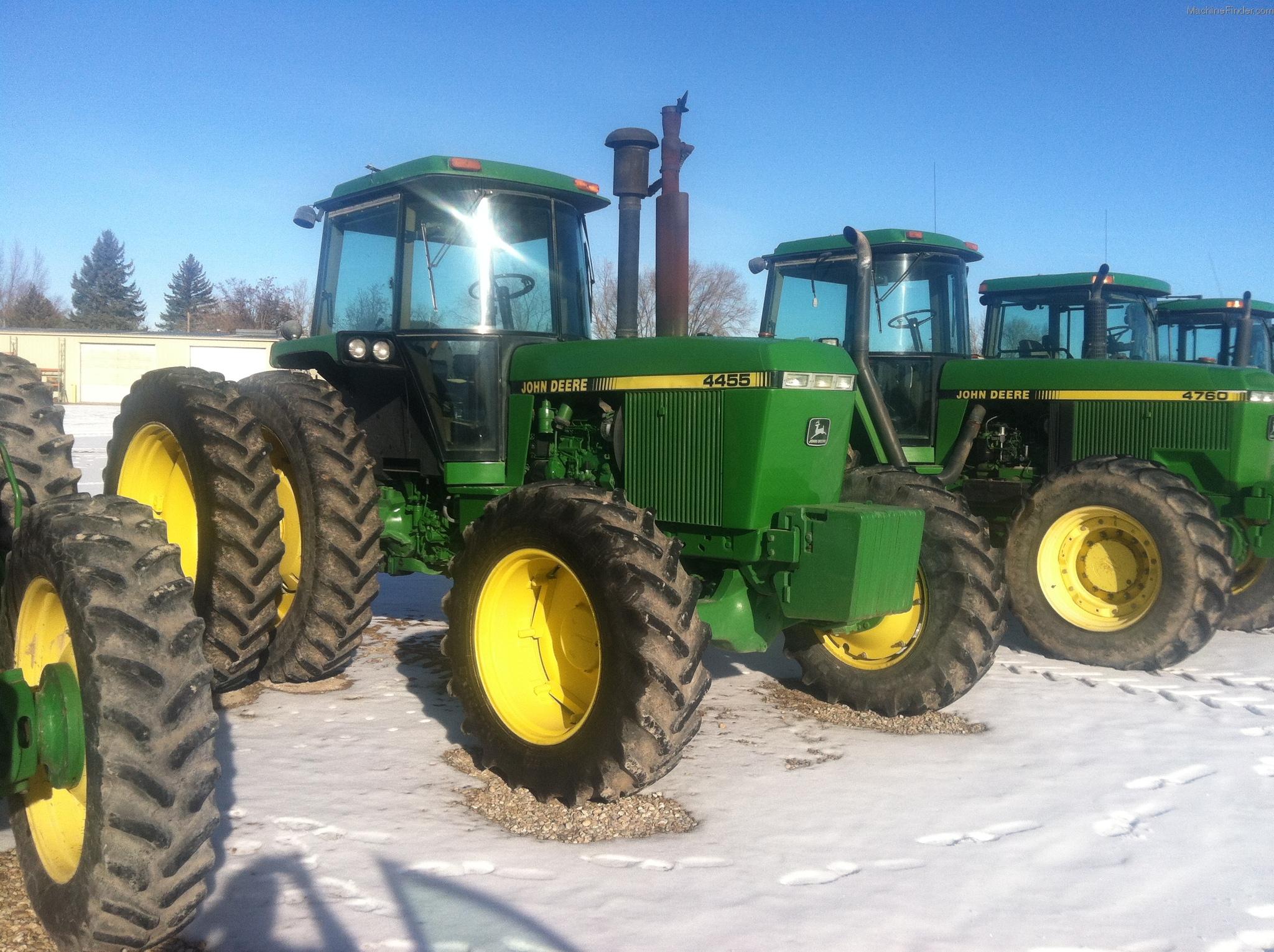 John Deere 4455 Tractors - Row Crop (+100hp) - John Deere ...