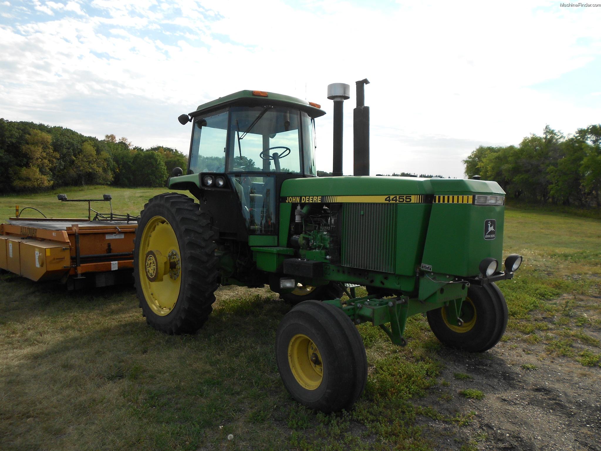 1989 John Deere 4455 Tractors - Row Crop (+100hp) - John ...