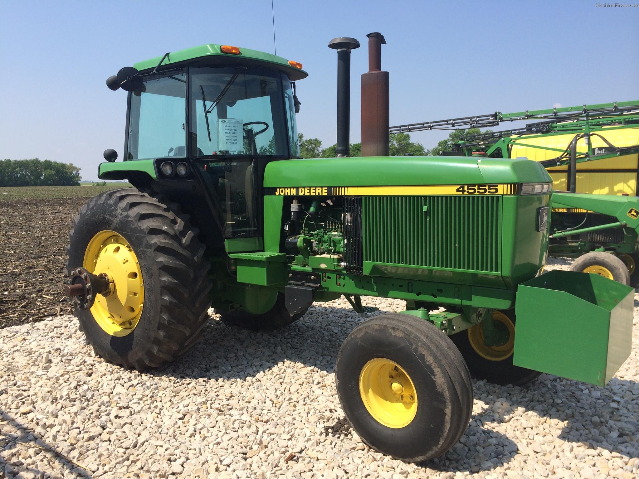 1991 John Deere 4555 Tractors - Row Crop (+100hp) - John ...