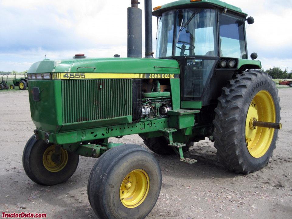 TractorData.com John Deere 4555 tractor photos information