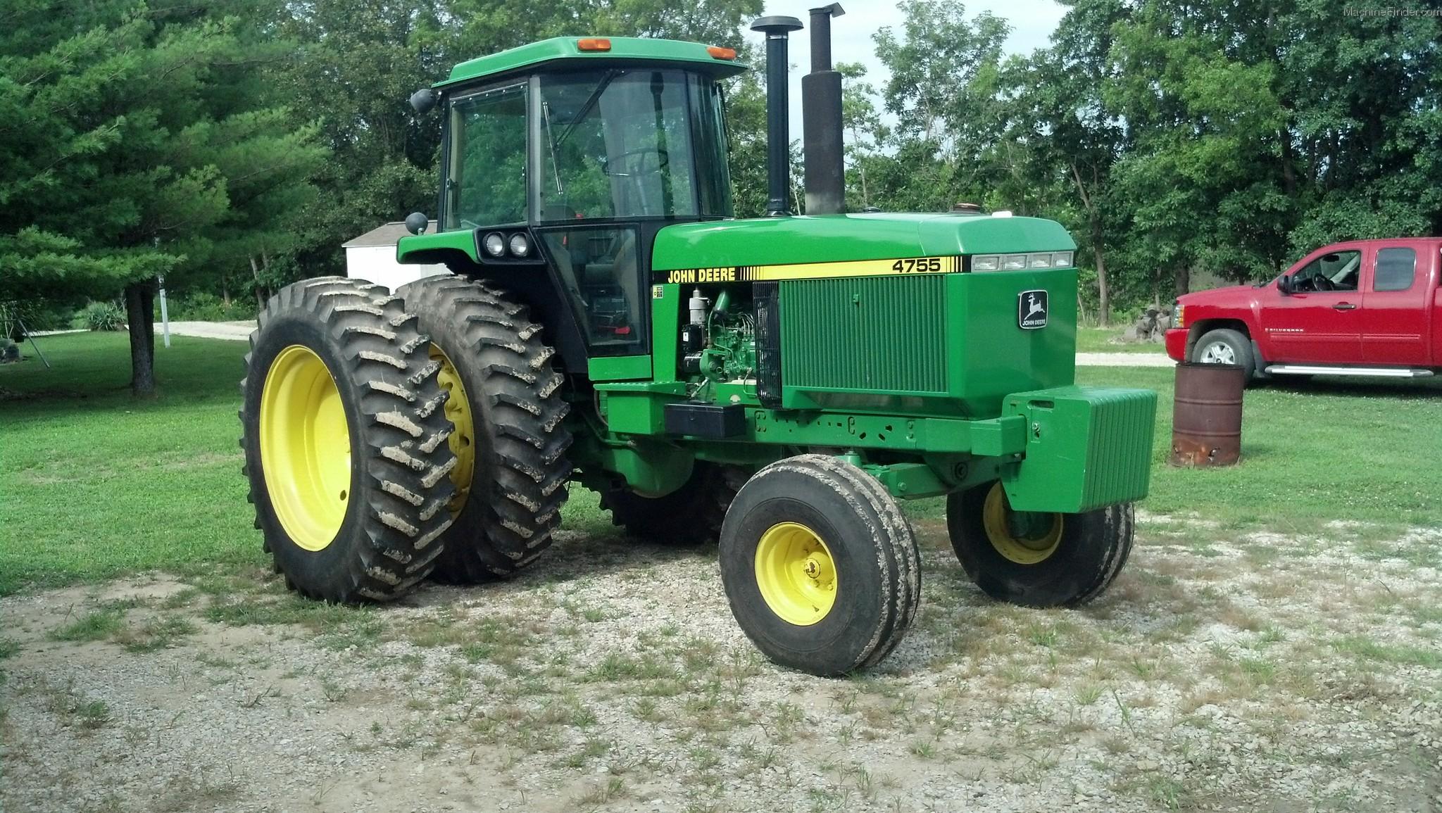 1990 John Deere 4755 Tractors - Row Crop (+100hp) - John ...