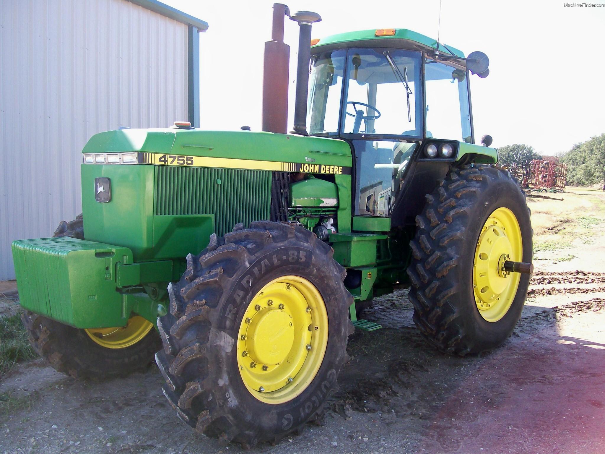 1989 John Deere 4755 Tractors - Row Crop (+100hp) - John ...