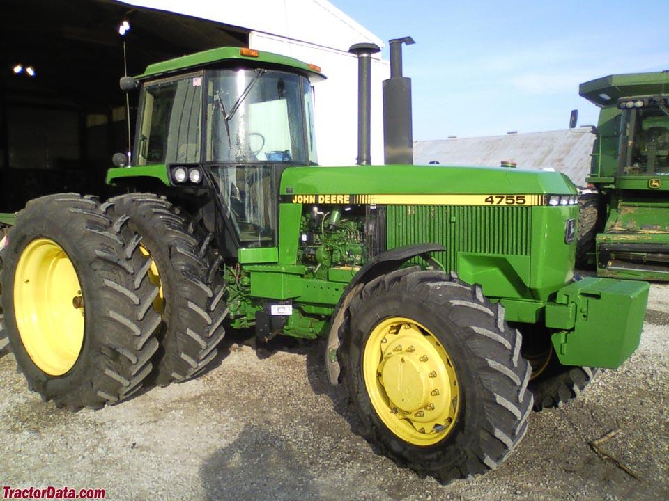 TractorData.com John Deere 4755 tractor photos information