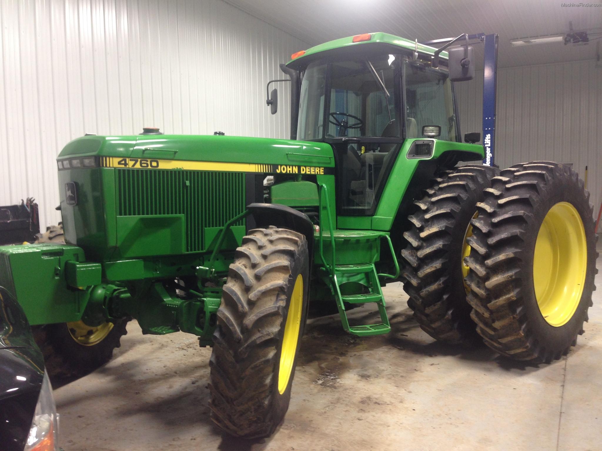 1991 John Deere 4760 Tractors - Row Crop (+100hp) - John ...