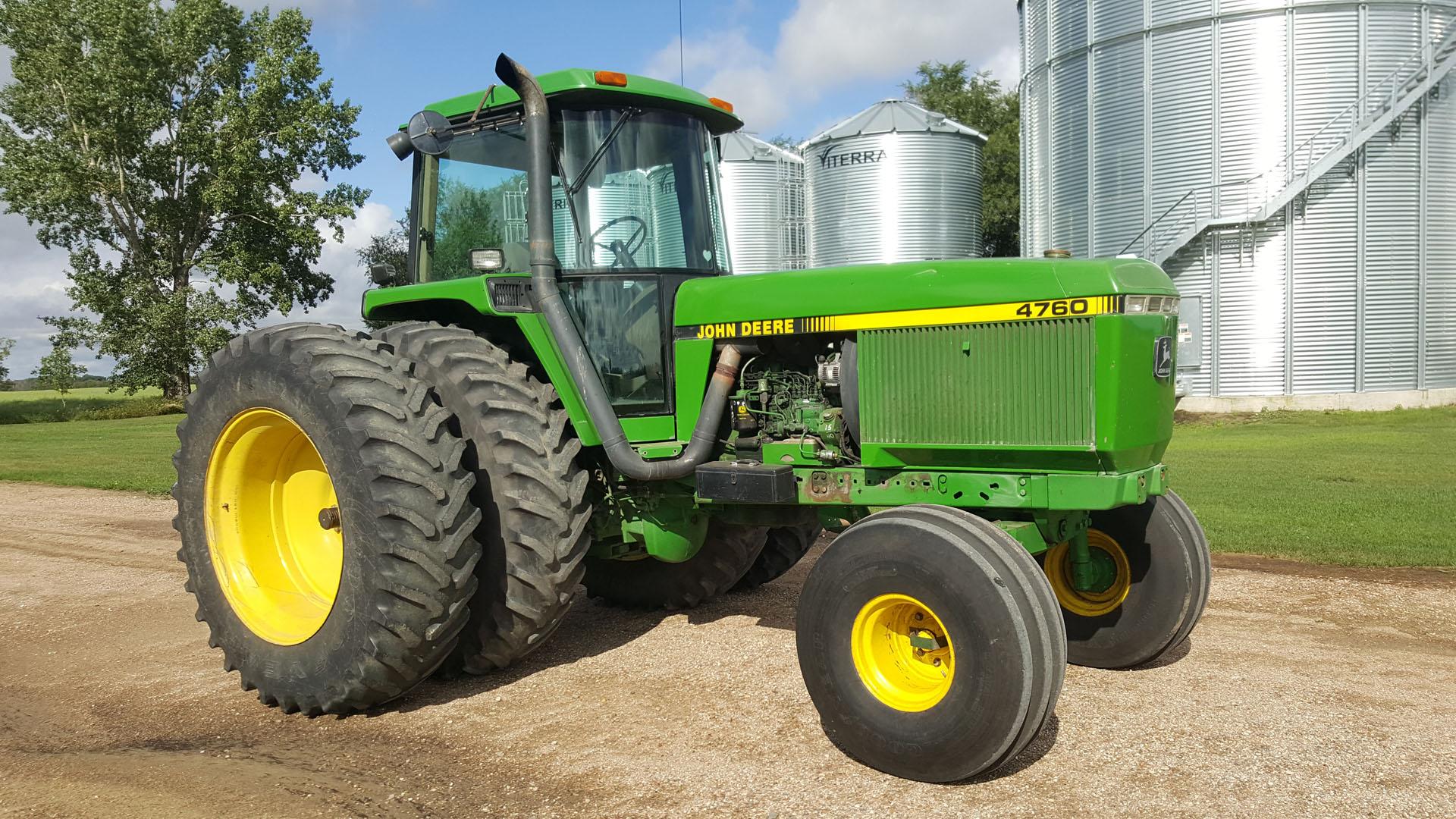 Hilltop Hideaway - John Deere 4760 Tractor