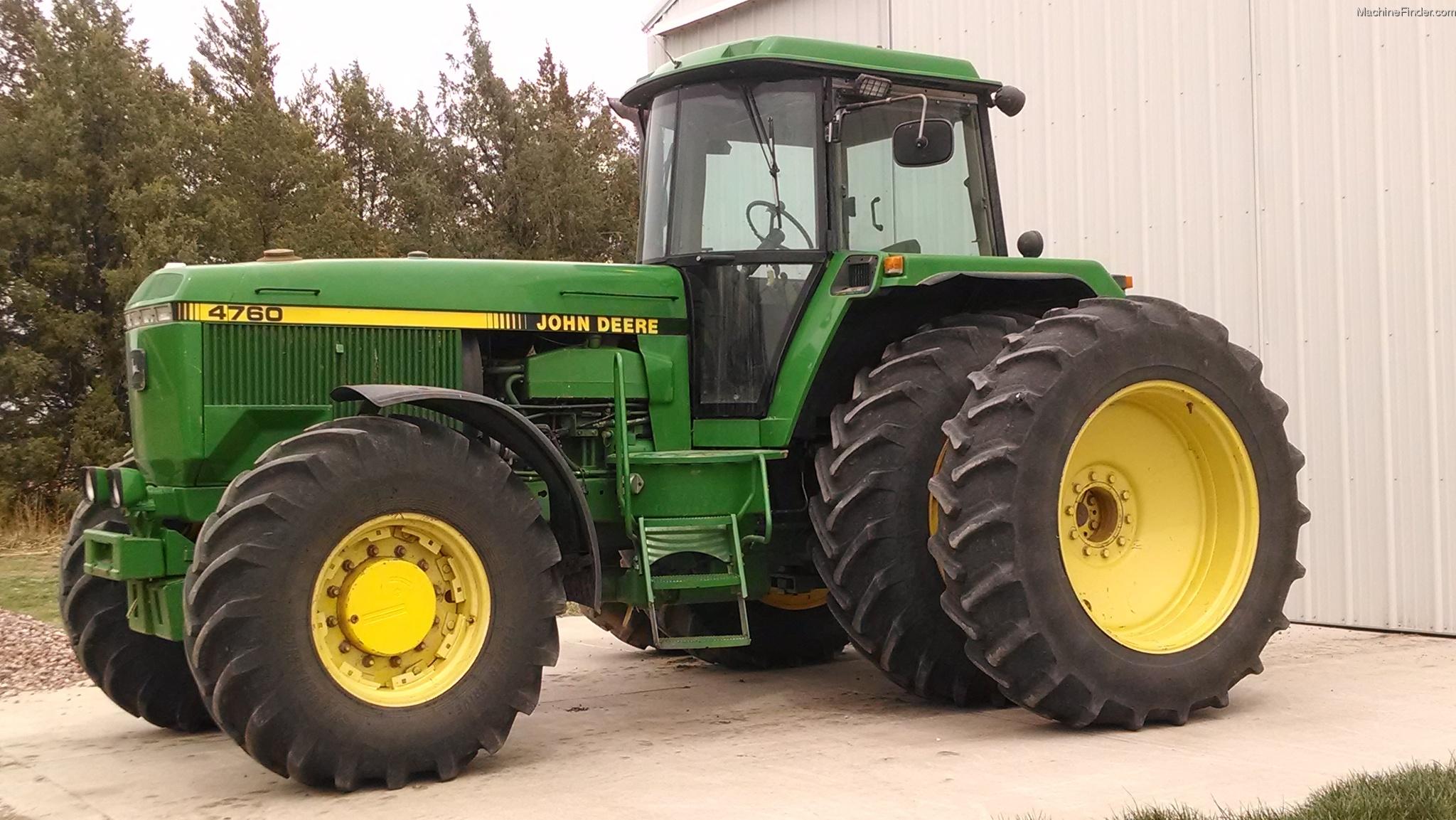 1992 John Deere 4760 Tractors - Row Crop (+100hp) - John ...