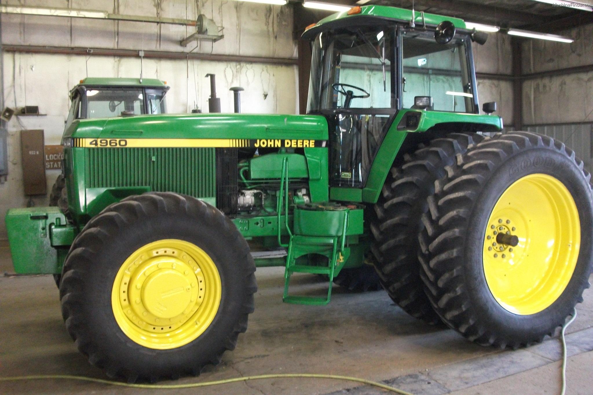 John Deere 4960 Tractors - Row Crop (+100hp) - John Deere ...